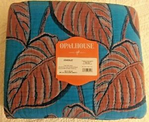 OPAL HOUSE KING COVERLET -- NEW