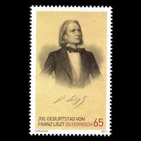 Austria 2011 - 200th Anniv of the Birth of Franz Liszt Composer - Sc 2295 MNH