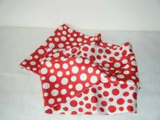 AUTHENTIC NEW LOUIS VUITTON YAYOI KUSAMA SNOOD Red Polka Dot Silk Infinity Scarf