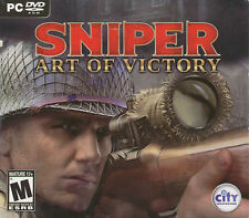 SNIPER ART OF VICTORY - Mature WW2 WWII Shooter Sharpshooter PC Game - NEW!