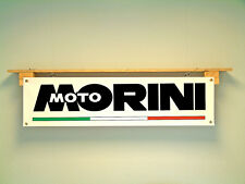 Moto Morini Banner Motorcycle Garage Workshop Sign. 3-1/2, Strada