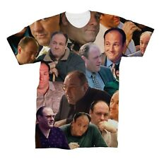 Tony Soprano (The Sopranos) Photo Collage T-Shirt