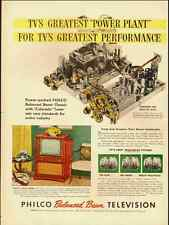 1951 Vintage ad for PHILCO Balanced Beam Television  (050512)