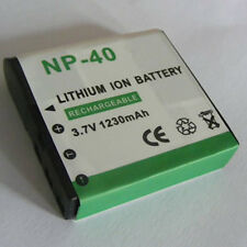 Battery fits CASIO Camera NP-40 NP40 NP-40DBA NP-40DCA Exilim EX-FC150BK