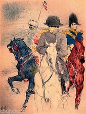 Napoleon print by Henri Toulouse-Lautrec 1800-1899 reproduction