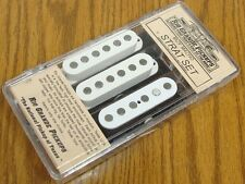 NEW USA Rio Grande Muy Macho Strat PICKUP SET White for Fender Stratocaster