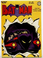 BATMAN No 20 Dec 1943 by Dick Sprang PC 1994 ITALY Pozzuoli '94 Napoli e Nuvole