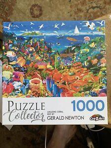 Puzzles: Gerald Newton - Amazing Coral Reef (1,000 Piece)
