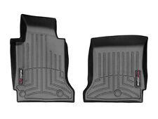 WeatherTech FloorLiner Mats for Chevrolet Corvette - 2005-2013 - 1st Row - Black