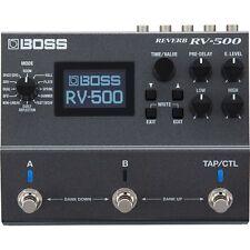 BOSS RV-500 Reverb Guitar Effects Pedal +Picks