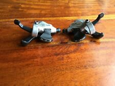 Shimano Deore LX 3 x 8 Speed Gear Shifters, SL-M569, trigger, mountain bike