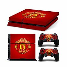 Manchester United Skin Sticker PS4 Playstation 4 Full Console & 2 Controller