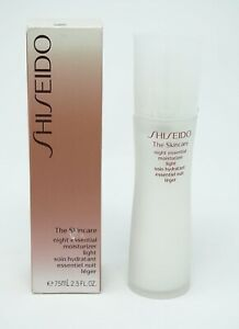 Shiseido The SKincare Night Essential moisturizer  light 75ml