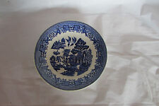 WOODS WARE WILLOW SAUCER - 14.5cm -  WOODS & SONS ENGLAND SEE PICS