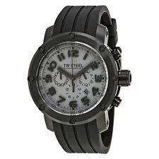 TW Steel Grandeur Tech 48 MM Black Dial Chronograph Mens Watch TW129