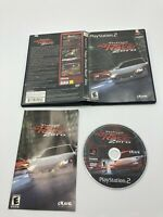 Sony PlayStation 2 PS2 CIB Tested Complete Tokyo Extreme Racer Zero Ships fast