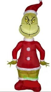 CHRISTMAS THE GRINCH DR SEUSS   4 FT Airblown Inflatable GEMMY