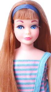 Gorgeous Vintage Redhead Twist N Turn Skipper Doll MINT