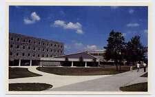 BLACKSBURG VA TECH Hokies VPI Athletes new Dormitory Dining Hall c postcard