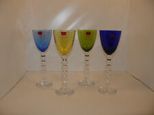 Baccarat Set 4 Rhine Wine Glasses/Vega Rhine Wine Glass/Crystal