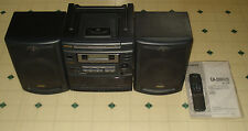 ~~Aiwa CD Cassette FM/AM portable boombox model CA-DW470U --Works-- ~~CA-DW470~~