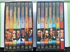 The James Bond Collection Special Edition 14 Disc DVD 007 Box Set Vol 1 & 2