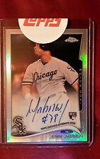 2014 TOPPS CHROME AUTO REFRACTOR JOSE ABREU ROOKIE CARD #'D 237/499 REDEMPTION