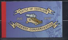 Great Britain Alderney 2005 Battle of Trafalgar booklet Vf Mnh