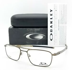 NEW Oakley Gauge 5.2 Truss RX Prescription Frame Pewter OX5127-0251 51mm GENUINE