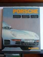 PORSCHE 959 - STEFANO PASINI Hardback 1987 1st Automobilia