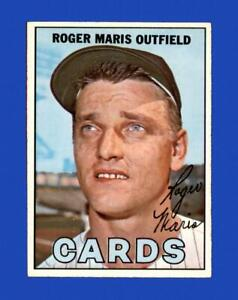 1967 Topps Set Break # 45 Roger Maris EX-EXMINT *GMCARDS*