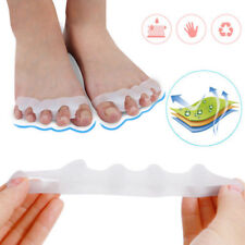 1Pair Silicone Gel Toe Straightener Separator Bunion Corrector Pain Relief NEW
