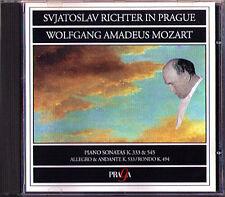 Sviatoslav Richter Mozart PIANO sonsta k.333 533 545 RONDO 494 pianoforte SONATE CD
