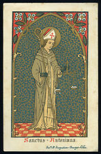 antico santino cromo-holy card  S.ANTONINO PIEROOZI ARC.DI FIRENZE
