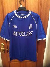 Chelsea Football Shirt 1999/2000 Autoglass SIZE M