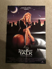 Dolly Parton Straight Talk Poster 20x30 1992
