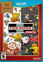 NEW NES Remix Pack (Nintendo Wii U, 2014) Selects Cover