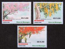 Nicaragua 2004. Scott # 2426-2428. Flora of Nicaragua. Set of 3. MNH