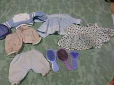 9piéces vétements,etc. petit pouponet poupée 20-25cm,bella ,gégé,,famosa,etc..
