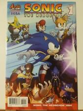Sonic the Hedgehog 284 Archie IDW Knuckles Shadow Tails Mega Man