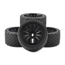 4Pcs 17mm Hex 1:8 Bigfoot Monster Truck Tires and Wheels Set for TRAXXAS RC Car