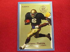 1993 Fleer Jerome Bettis football rookie prospects card   Notre Dame  Steelers