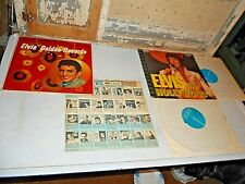 "Elvis Lot of 2 Vinyl Records:""Elvis In Hollywood "" & ""Elvis' Golden Records"""