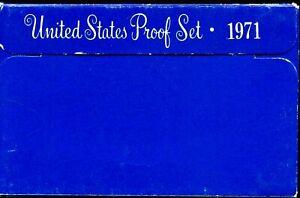 1971-S US Proof Mint Set 5 Coins CLAD 20uul1007