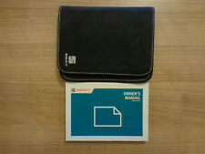 Seat Alhambra Owners Handbook/Manual and Wallet 10-17