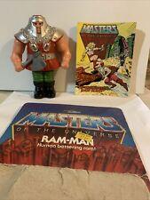Original Ram-Man 1982 Taiwan HE-MAN Masters of the Universe