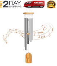 New listing Amazing Grace Extra Large Wind Chimes 6 Metal Tubes Outdoor Home Garden Decor