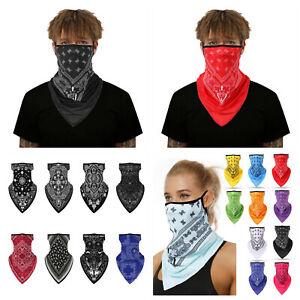 Face mask balaclava snood neck tube washable multi use with ear loops