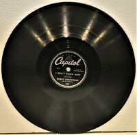 "BOBBY SHERWOOD  ""I Don't Know Why / The Elks Parade""  78 RPM  Capitol 107"