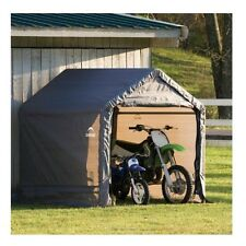 Outdoor Storage Sheds Portable Motorcycle ATV Garage Garden Lawn Tractor Shelter